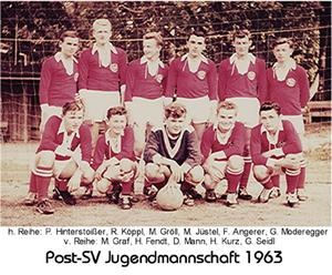 Seniorensport Post-SV Jugendmannschaft