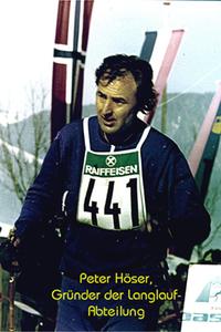 Seniorensport Peter Höser, Gründer der Langlauf-Abteilung